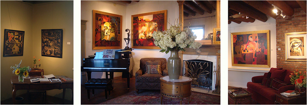 Gaugy Gallery in Santa Fe, New Mexico - fine art gallery on Canyon Road