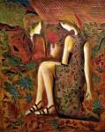 Jean Claude Gaugy Art - Foret de Fleurs