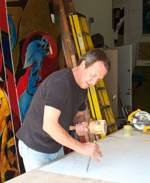 French Artist Jean Claude Gaugy
