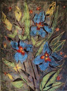 Les Irises en Fleurs 1/35 (Irises in Bloom)