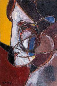 Profile à la Gauguin (Portrait in the Style of Gauguin)